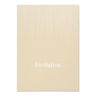 """Parásitos atmosféricos beige suaves de Brown todos Invitación 5"""" X 7"""""""