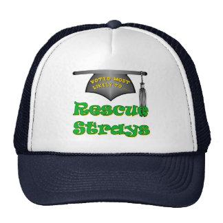 Parásitos del rescate gorras de camionero