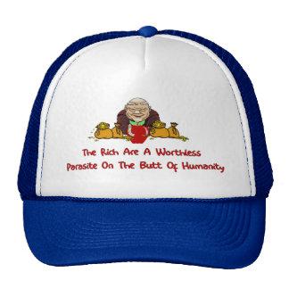 Parásitos ricos gorra