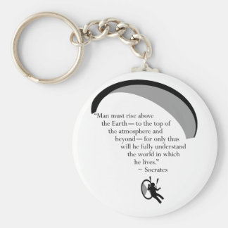 paraSocrates Keychains