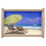 Parasol de playa, Ábaco, Bahamas Bandeja