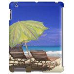 Parasol de playa, Ábaco, Bahamas Funda Para iPad