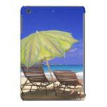 Parasol de playa, Ábaco, Bahamas Funda Para iPad Mini Retina