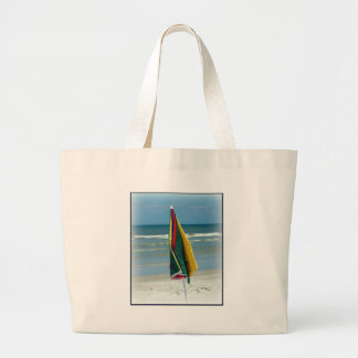 Parasol de playa bolsa tela grande