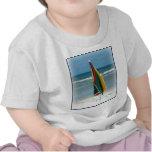 Parasol de playa camisetas