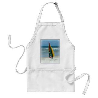 Parasol de playa delantal