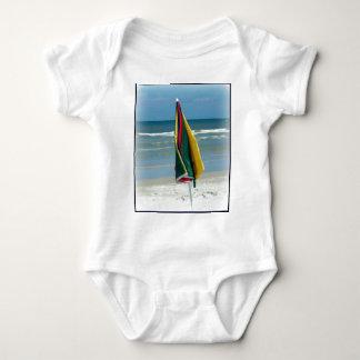 Parasol de playa remera