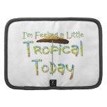 Parasol de playa tropical de la CAMISETA Organizador