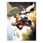 ¿Parasol Espa de Francisco de Goya The? ol: 1776-1 Tarjeta Postal