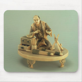 Parasol Maker, Okinomo, Edo Period Mouse Pad