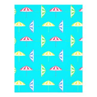"""Parasol pattern 8.5"""" x 11"""" flyer"""