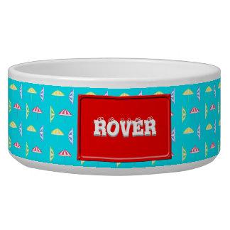 Parasol pattern bowl
