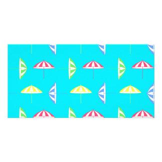 Parasol pattern card