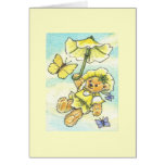 Parasol Teddy Blank Note Cards
