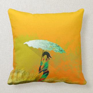 Parasol Throw Pillow
