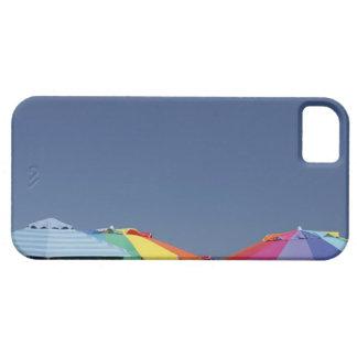 Parasoles en la playa. Sombrillas Funda Para iPhone SE/5/5s