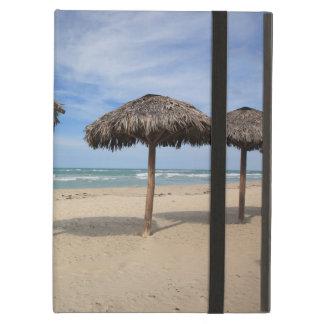Parasols, Varadero Beach, Cuba Cover For iPad Air