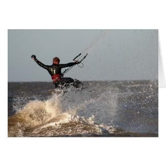 Parasurfing. Card by cARTerART