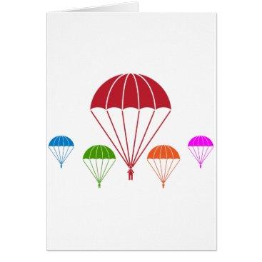 Paratrooper Skydiver Parachute Team