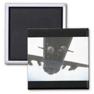 Paratroopers exiting door_Military Aircraft Magnet