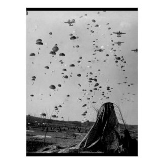 Paratroopers of the 187th RCT_War Image Poster