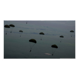 Paratroops Poster
