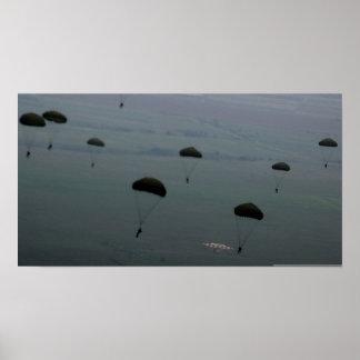 Paratroops Print