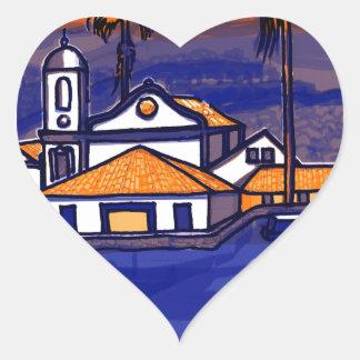 Paraty - Rio De Janeiro - Brazil Heart Sticker