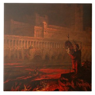 Parau na te Varua ino (Words of the Devil), 1892 Ceramic Tile