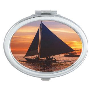Paraw Sailing At Sunset |Phillipines Makeup Mirror
