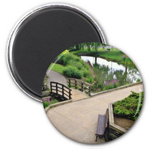Parc de Beaubien, Outremont, Montreal, Quebec, Can Magnets