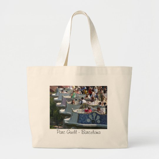 Parc Guell - Barcelona Large Tote Bag