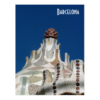 Parc Guell Post Card
