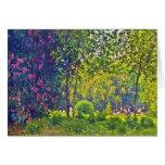 Parc Monceau Claude Monet Greeting Cards