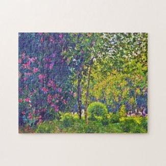 Parc Monceau Claude Monet Jigsaw Puzzle