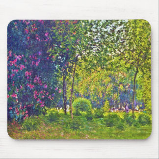 Parc Monceau Claude Monet Mouse Pad