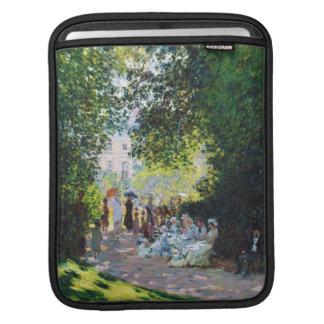 Parc Monceau Claude Monet painting iPad Sleeve