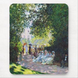 Parc Monceau Claude Monet painting Mouse Pad