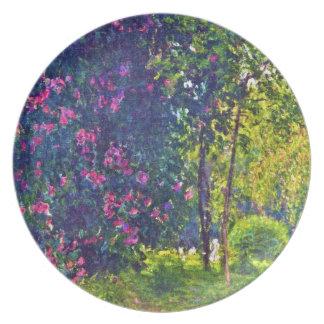 Parc Monceau Claude Monet Plates