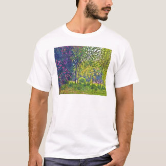 Parc Monceau Claude Monet T-Shirt
