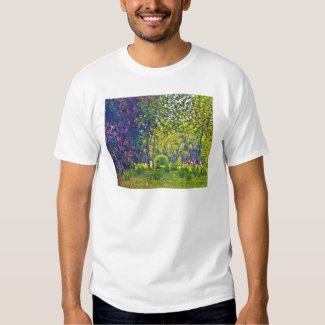 Parc Monceau Claude Monet Tee Shirt