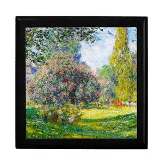 Parc Monceau, París Claude Monet Cajas De Recuerdo
