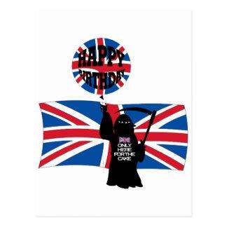 Parca británico tarjetas postales