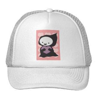 Parca con el gorra del corazón