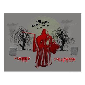 Parca de Halloween Postales