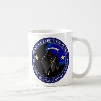 Parca del logotipo del abejón de la marina de taza