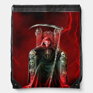 Parca en su trono mochilas