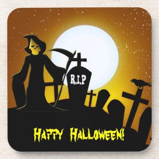 Parca Halloween asustadizo Posavasos