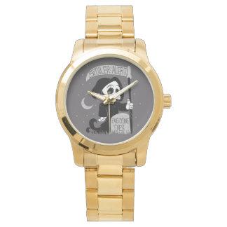Parca lindo con la guadaña relojes