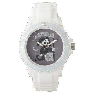 Parca lindo con la guadaña relojes de mano